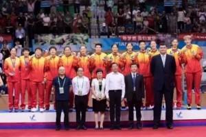 马可波罗瓷砖:广东女篮勇夺61年来全运首冠